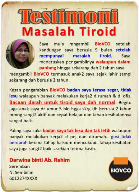 PENYAKIT berkaitan tiroid merupakan masalah kesihatan biasa yang boleh dialami oleh sesiapa pun